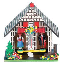 Black Forest Weather House with Fountain
