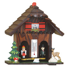 Black Forest Weather House with Deer