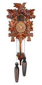 Black Forest Quartz Cuckoo Clock plays Cuckoo Chime & 12 Different Melodies