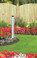 Extra Large Lawn Thermometer 48 inch Aluminum Standing Hokco