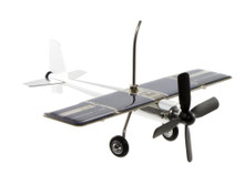 Solar Powered Airplane Mobile with 2 Planes