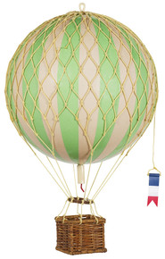 Travels Light Helium Green Balloon AP161G