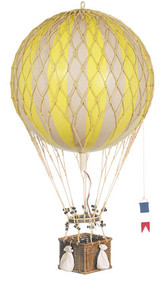 Royal Aero Helium Yellow Balloon AP163Y