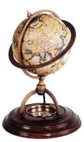 Terrestrial Globe With Compass by Authentic Models GL019