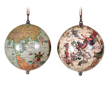 The Earth & The Heavens Hanging Globes by Authentic Models GL032