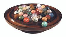 Solitaire Game Semi-Precious Marbles GR022