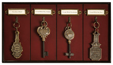 Authentic Models Grand Hotel Key Rack KC000