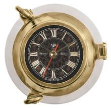 Aluminum Port Hole Clock by Authentic Models SC043