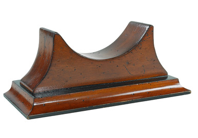 Wood Base For Clock & Barometers by Authentic Models SC044