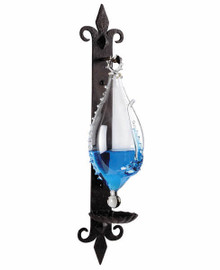 Weather Glass Barometer Gothic Bracket Authentic Models WG013