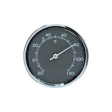 Analog Thermometer With Gray Scale Hokco