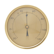Round Analog Spiral Thermometer by Hokco