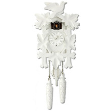 Design Collection Quartz Cuckoo Clock, white