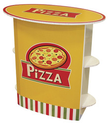 FunDeco Pizza Stand Front