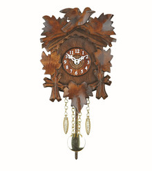 Black Forest Quartz Cuckoo Clock Walnut
