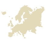European Continent Antique Maps Icon