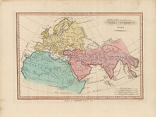 Ancient World Antique Map Finley 1818
