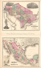 United States Washington DC Antique Map Gray 1873