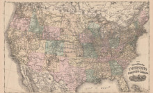 Population Census Indiana Vintage Map Baskin 1876