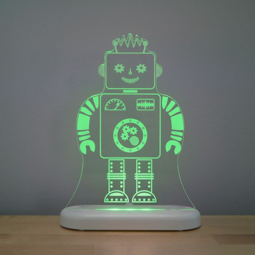 Aloka Lights Robot Night Green