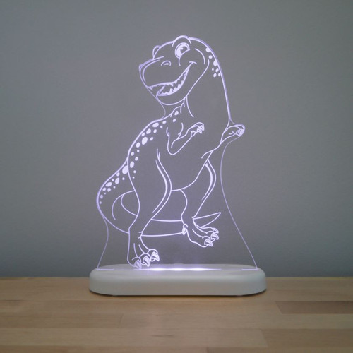 Aloka Night Light T Rex Dinosaur Light Purple