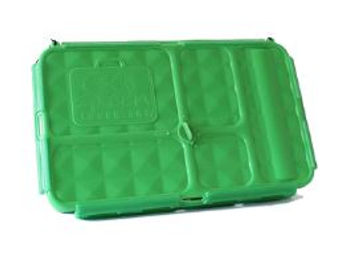 Go Green Lunch Box Green Closed