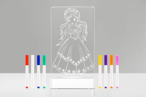 Aloka Night Lights Colour Me Princess