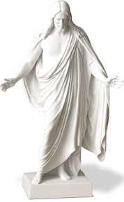 Marble Christus Statue - 12 Inch *