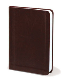 Brown Faux Leather - Blank Journal *