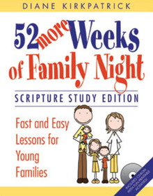 52 More Weeks of Family Night: Scripture Study Edition (Paperback) *
