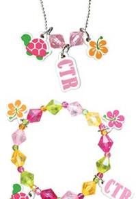 CTR Necklace and Bracelet Set Tropical *