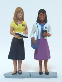 Sister Missionaries Action Figure Set #8 (Vinyl)