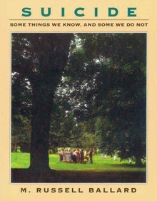 Suicide: Some Things We Know, and Some We Do Not (Paperback)