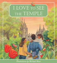 I Love to See the Temple (Board Book) *