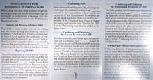 Priesthood Ordinance - Folding Pocket Card *
