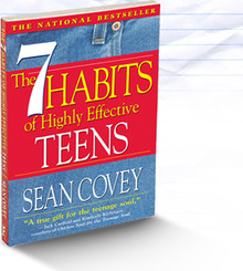 The 7 Habits  of Highly  Effective Teens (Paperback) *