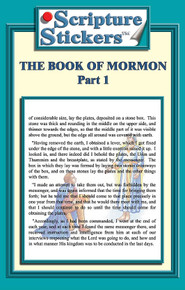 Scripture Stickers Book of Mormon Part 1