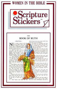 Scripture Stickers Women in the Bible *