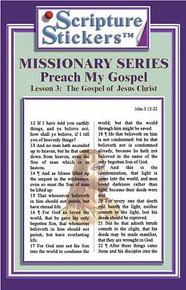 Scripture Stickers Preach My Gospel Lesson 3