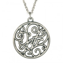 CTR Scroll Necklace *