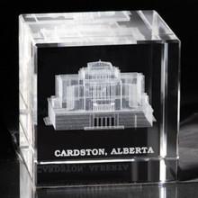 Cardston Alberta Canada Temple Cube *
