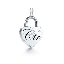 "Necklace ""CTR Love Lock"" Stainless Steel *"