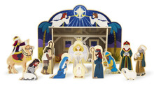 Wooden Nativity Set *