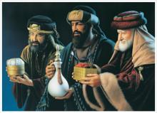 We Three Kings 5x7 Print by Simon Dewey *