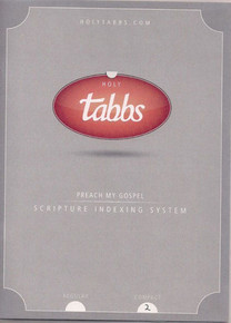 HolyTabbs Scripture Indexing System for Bible and Triple Combination Compact