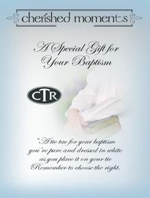 Baptism Tie Tac Oval CTR