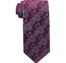 Missionaries on Bikes Red and Silver Boy`s Zipper Tie ages 4-10