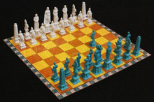 Nephite vs Lamanite chess & checkers set (vinyl) *