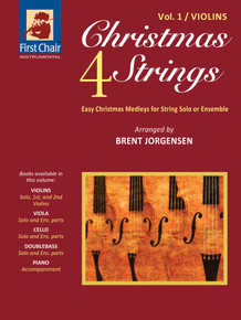 Christmas 4 Strings - Vol.1 - Violins (Paperback) *