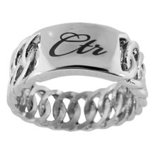 Braid CTR Ring (Stainless Steel)  *